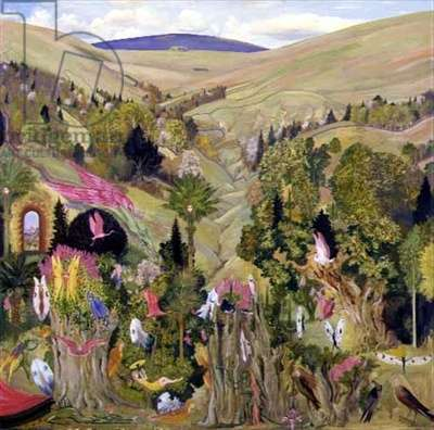 The Coming of Spring, 1979 (oil on board)