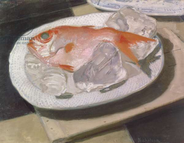 Sunfish, 1935 (oil on canvas)
