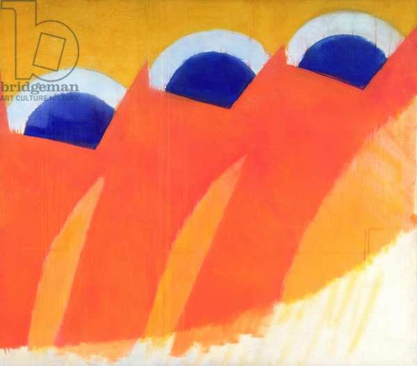 Trio, 1963 (oil on canvas)