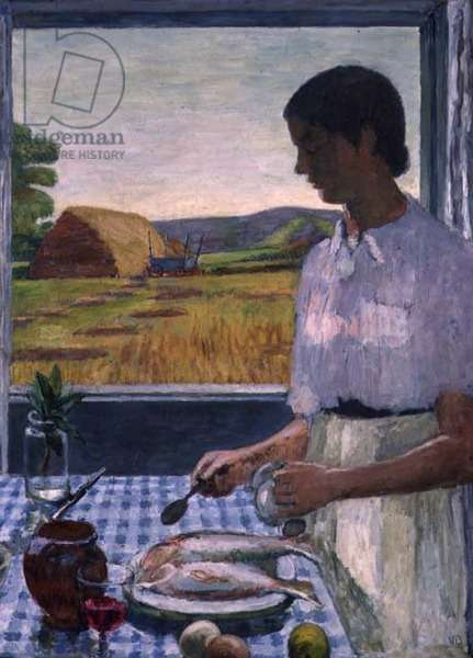 The Cook, 1948 (oil on canvas)
