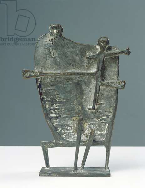 Mother and Child, 1953 (bronze)
