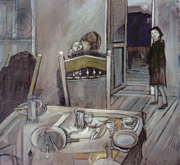 After the Meal, 1952 (oil on canvas)