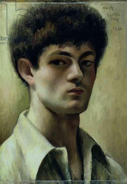 Self Portrait, 1920 (oil on canvas)