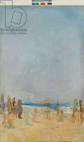 Bathers, 1973-75 (oil on canvas) (see ACO 5933763)