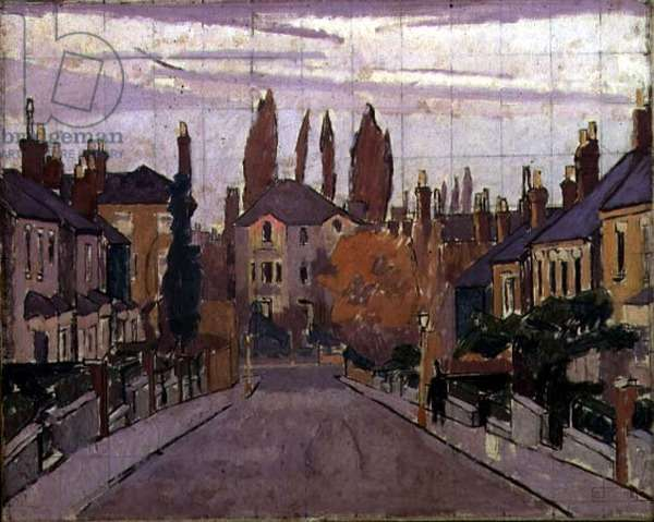 Chisholm Road, Richmond, 1913 (oil on canvas)
