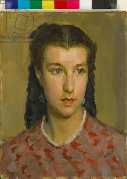 Manon, 1946 (oil on canvas)