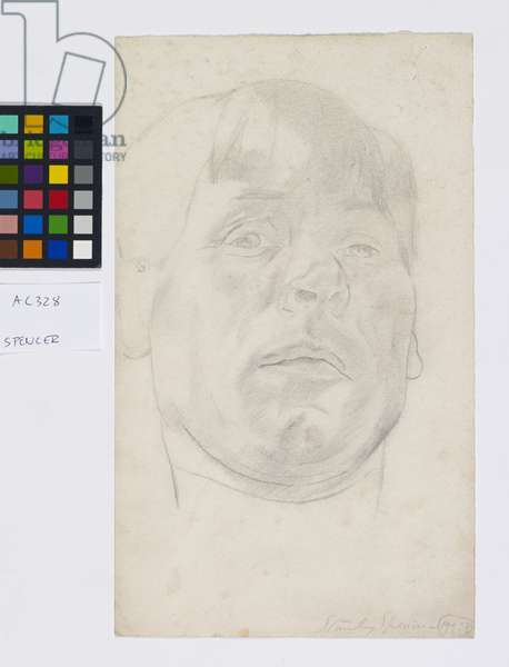 Self Portrait, 1926 (pencil on paper)