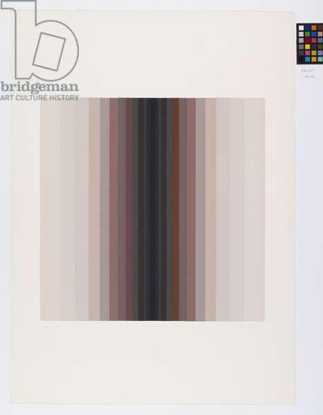 Adytum SII, 1973 (silkscreen print)