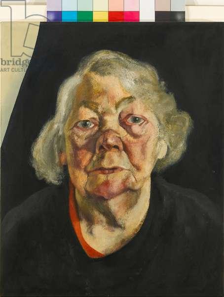 Frances Rose (3), 1973 (oil on canvas)