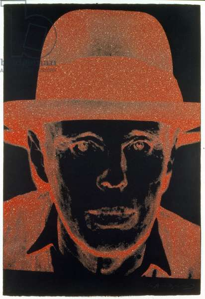 Joseph Beuys (1921-86) 1980 (screenprint)