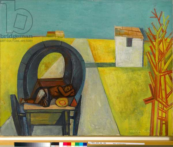 The Road to Valencia, 1949 (oil on canvas)