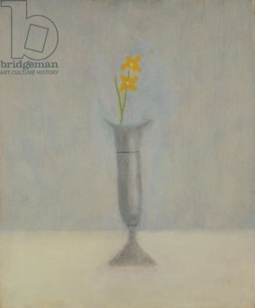 Grey Vase: Still Life, 1965 (oil on canvas)