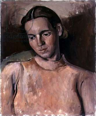 Portrait of a Girl, 1942 (oil on canvas)