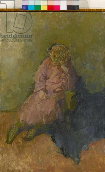 Study, 1981 (oil on canvas)