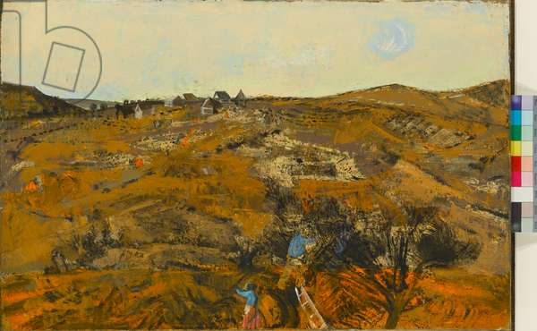 Italian Landscape, 1955 (oil on canvas)