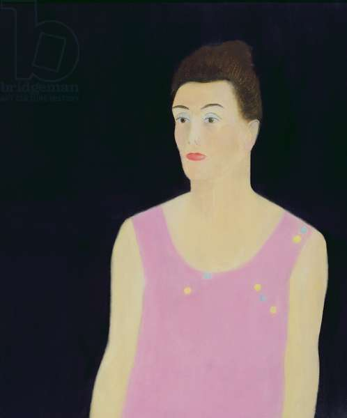 Daphne Against a Black Background, 1968 (oil on canvas)
