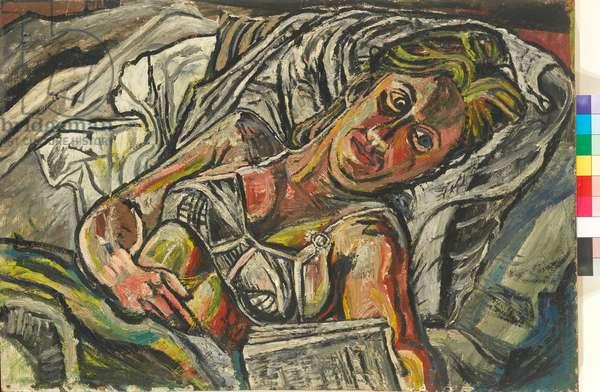 Jean Reading, 1953 (oil on hardboard)