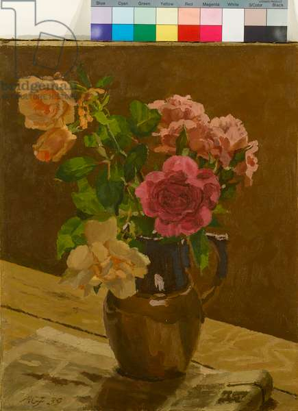 Roses, 1939 (oil on canvas)