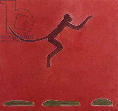 Red Monkey, 1978 (oil on canvas)
