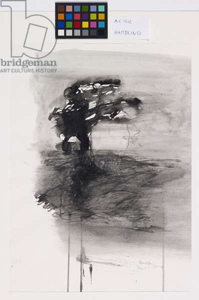 Tree 5, 1975 (ink and charcoal on paper)