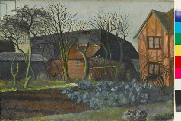 The Pink Farm, 1940 (oil on board)