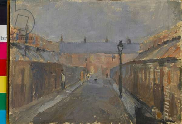 Newcastle, c.1955 (oil on paper)