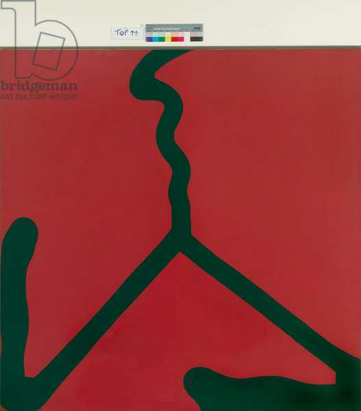 Untitled No.32, 1964 (acrylic on canvas)