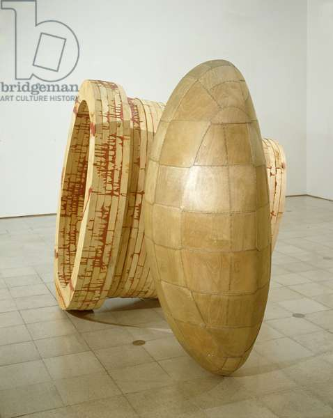 Kiss and Tell, 1989 (epoxy, timber, plywood and steel) (see also 106779)