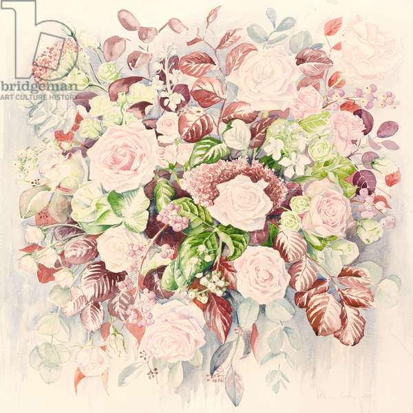 Wedding flowers, 2011, watercolour