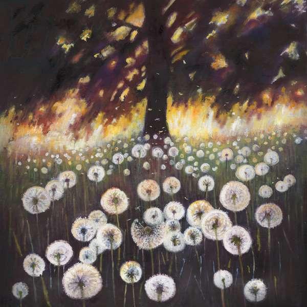 Field of Dreams, 2015, (oil on canvas)