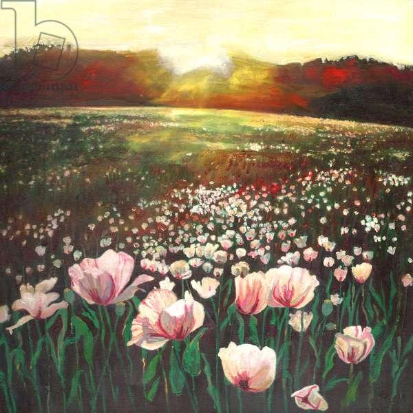 Love swept lands, 2015, (oil on canvas)