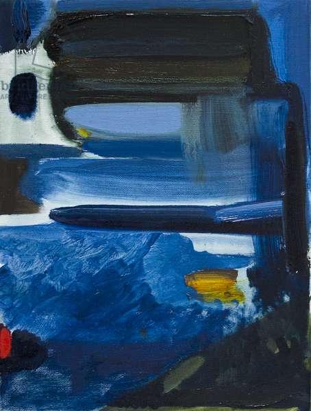 Lagoon, Paros, 2017, (oil on canvas)