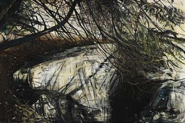 Undergrowth, 2010, (oil on board)