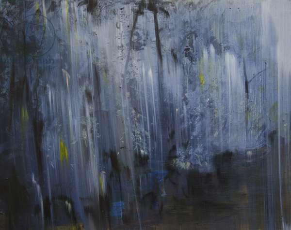 Deluge, 2014, (oil on board)