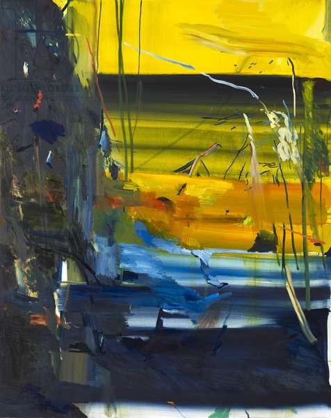 Benmore Vista, Abstract, 2018 (oil on canvas)