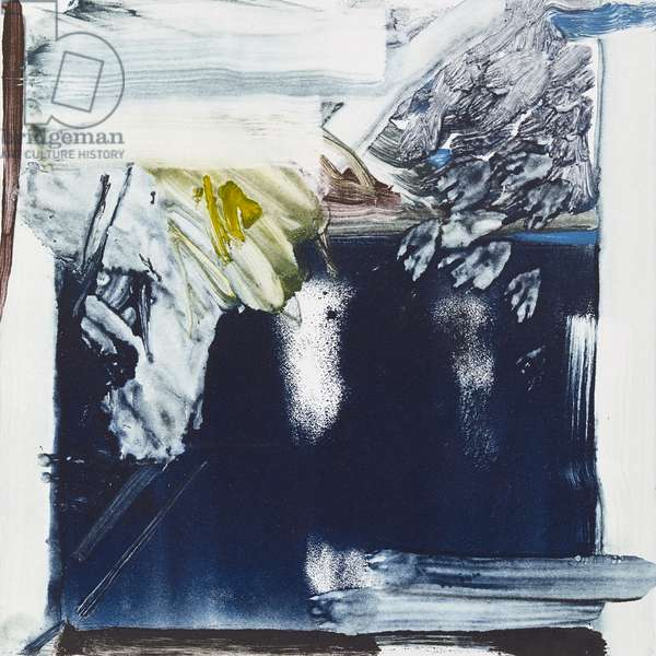 Palm House Arch, 2018, (monotype)