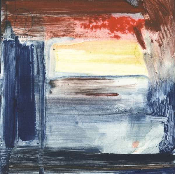 Red Sky At Night, 2019, (monotype)