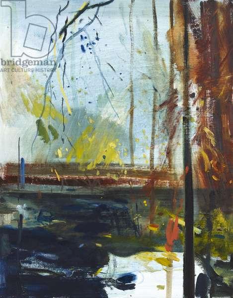 Passing Rain, 2018, (oil on canvas)