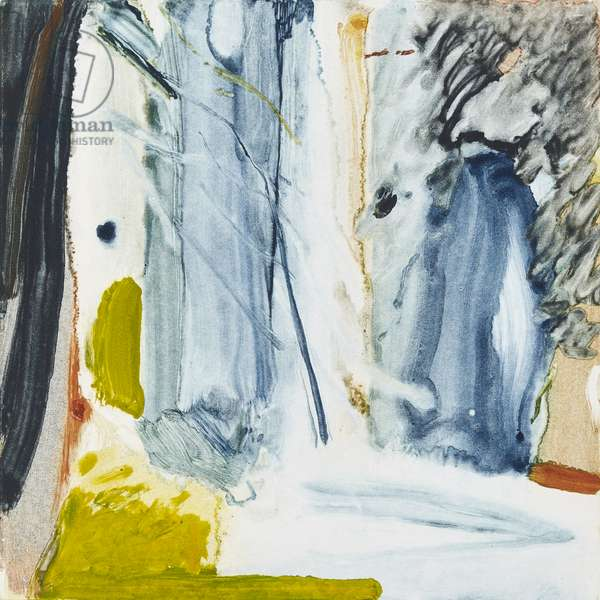 The Clearing, 2018, (monotype)