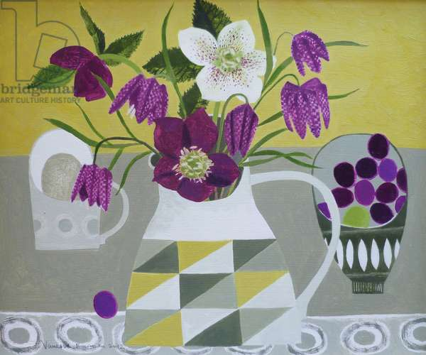 Hellebores and Fritilliaries