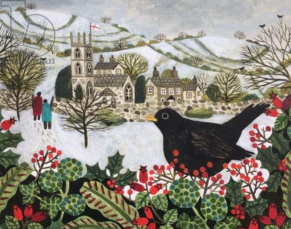 Blackbird and Churchgoers