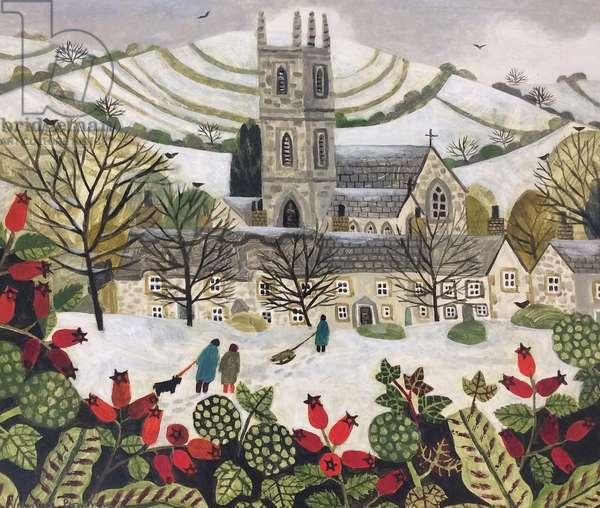 Cattistock in the Snow