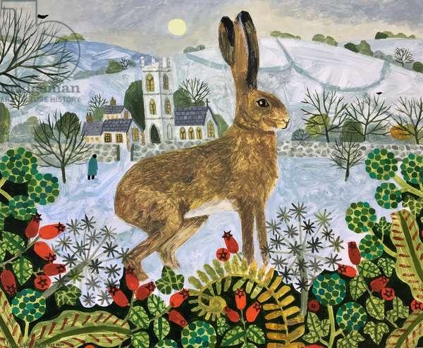 Hare at Twilight