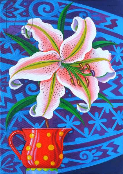 Lily, 2014, (oil on canvas)
