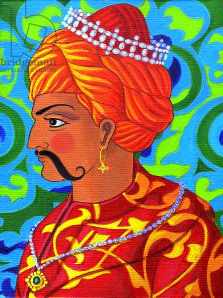 Sultan, 2011, (oil on canvas)