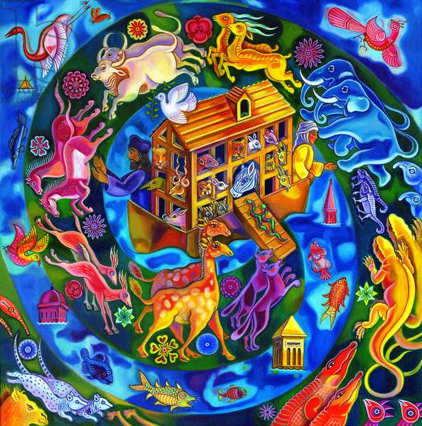 Noah's Ark, 2010, (oil on canvas)