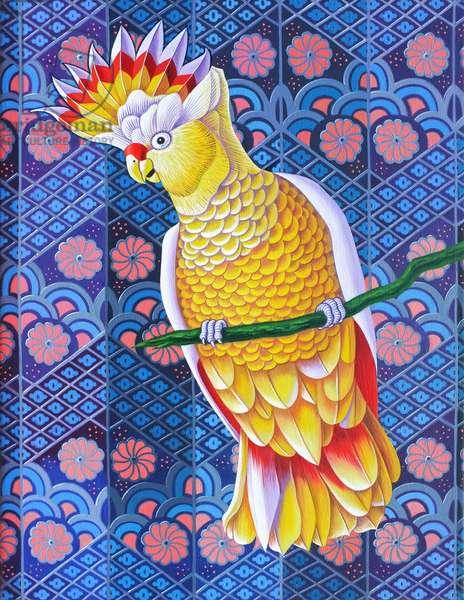 Cockatoo, 2016, (oil on canvas)