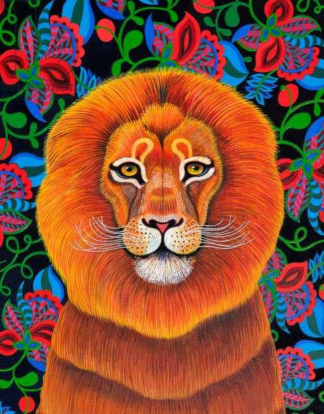 Lion, 2020, (oil on canvas)