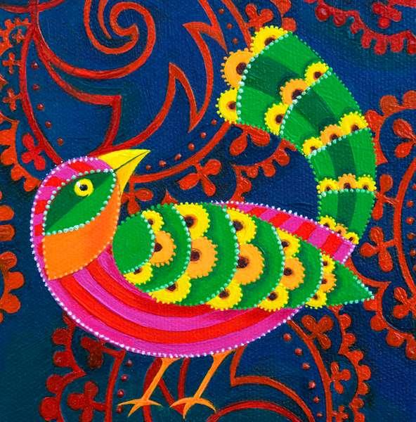 Green-tailed Bird