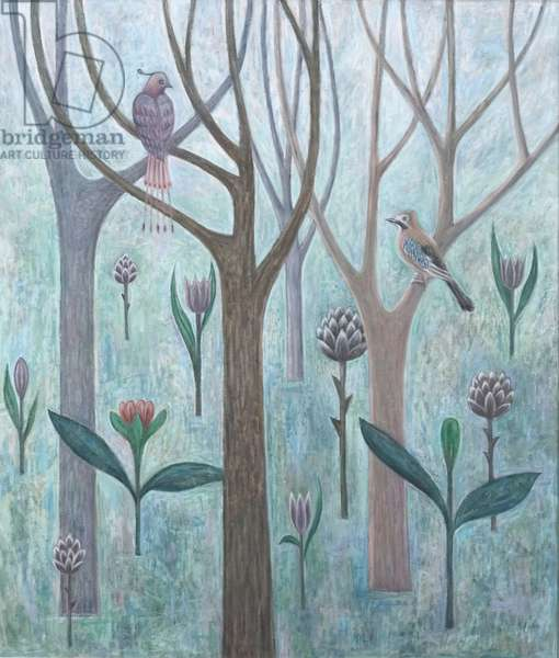 Fantasy Garden, 2005 (oil on canvas)